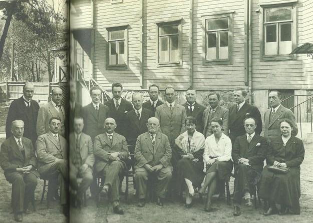 Personalen i judiska skolan